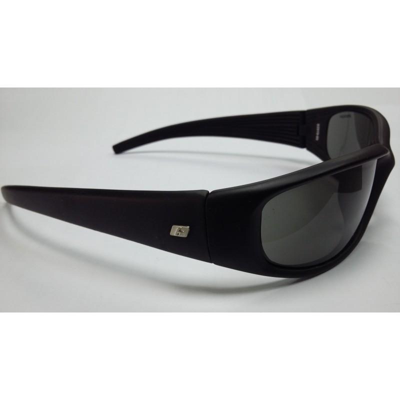 Очки солнцезащитные BRENDA полароид черные фирменные спортивные  G2919-05  - фото 1